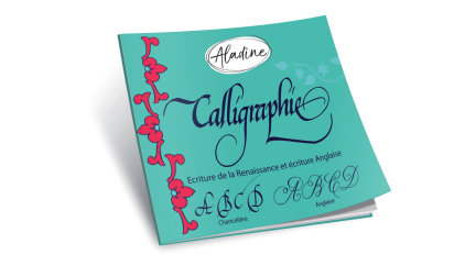 English calligraphy book