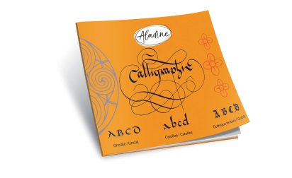 Latin calligraphy book