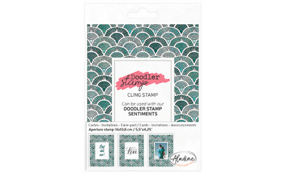 Doodler Stamp Cling