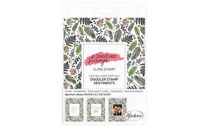 Doodler Stamp Foliage Cling
