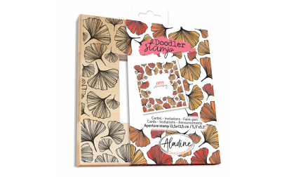 Doodler Stamp Ginkgo Wood