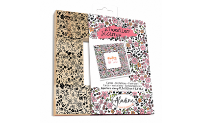 Doodler Stamp Liberty Wood