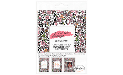 Doodler Stamp Liberty Cling