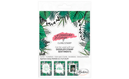 Doodler Stamp Tropical Cling
