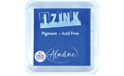 Encreur izink pigment Navy blue medium