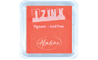 Encreur izink pigment Fluo orange medium