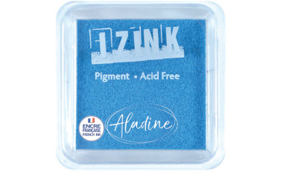 Encreur izink pigment Sky blue medium