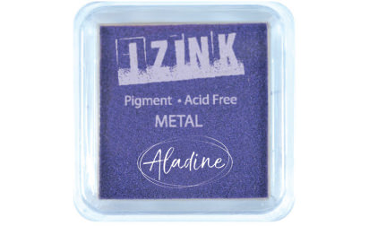 Encreur izink pigment Métal purple medium