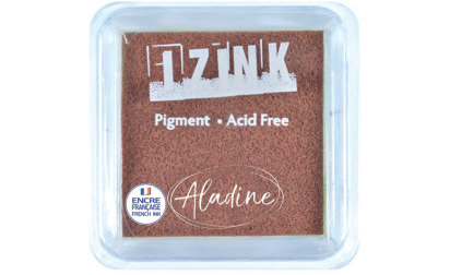 Encreur izink pigment Brown medium