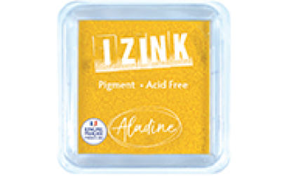 Encreur izink pigment large Yellow
