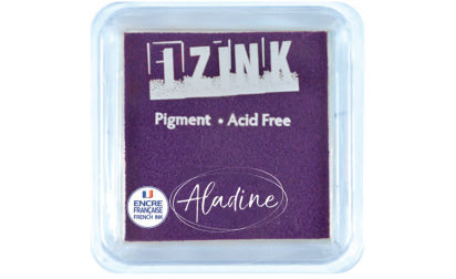 Encreur izink pigment Dark purple medium