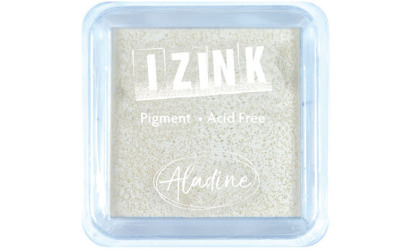 Encreur izink pigment White medium