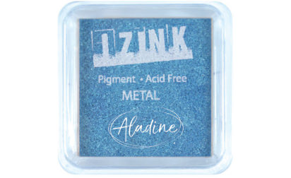 Encreur izink pigment Métal light blue
