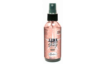 Izink Dye Spray Shiny - Orange Pastel