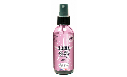Izink Dye Spray Shiny - Rose Pastel