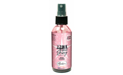 image de Izink Dye Spray Shiny - Rose Poudré