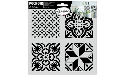 Pochoir Deco Carreaux Ciments