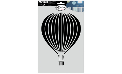 Deco Stencil Hot-Air Ballon
