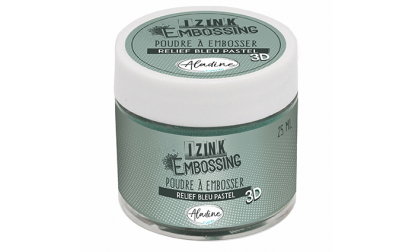 Izink Embossing Powder - Blue Pastel