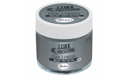 Izink Embossing Powder - Grey Pastel