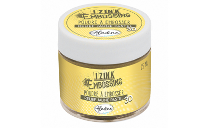 Izink Embossing Powder - Yellow Pastel
