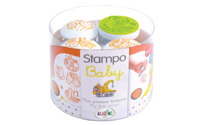 Stampo baby - engins de chantier