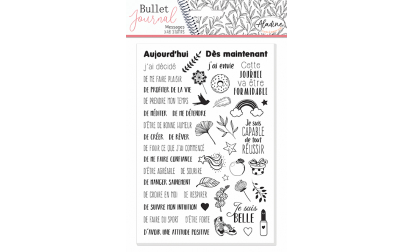 image de Stampo Bullet Journal Message