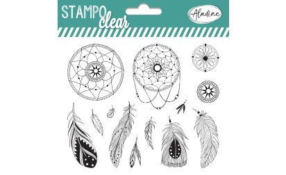 Stampo clear - tampons transparents - attrape-rêve