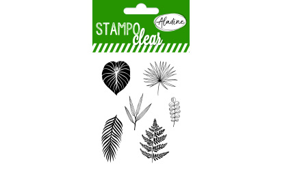 Stampo clear - Tampons transparents -  Feuilles