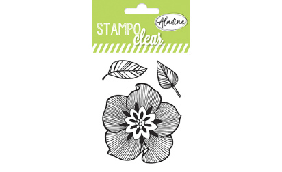 Stampo clear - Tampons transparents - Fleurs