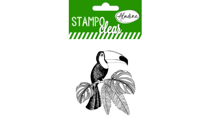 Stampo clear - tampon transparent - Jungle