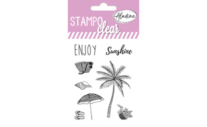 Stampo clear - tampons transparents - Summer