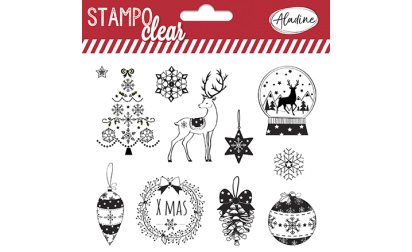 Stampo Clear Noël classique