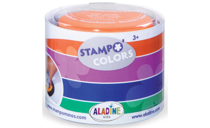 Stampo colors carnival stamps