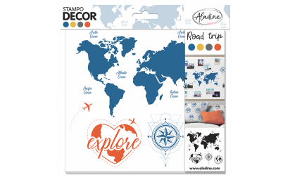 Stampo Decor Road Trip