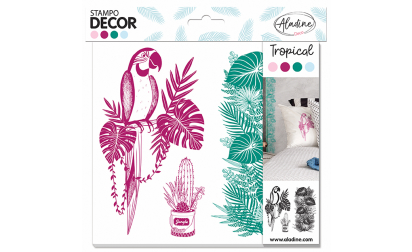Stampo Decor Tropical