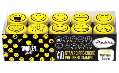Stampo easy - pre-inked stamps