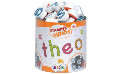 Stampo minos lowercase alphabet stamps