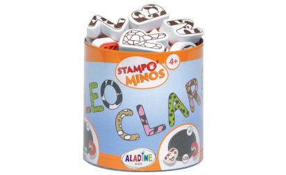Stampo minos alphabet stamps