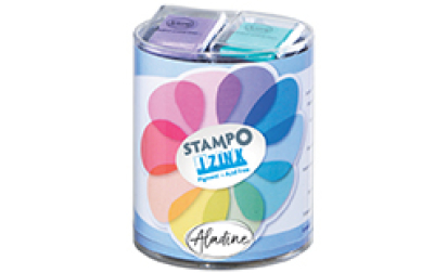 Stampo scrap pastel
