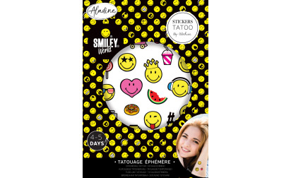 image de Stickers tatoo Smiley