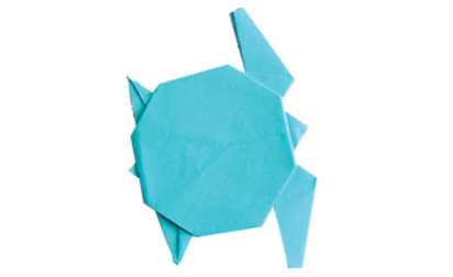 Origami sea picture image