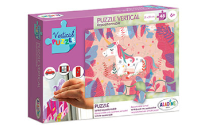 Vertical Puzzle Unicorn