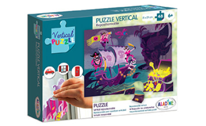 Vertical Puzzle Pirate