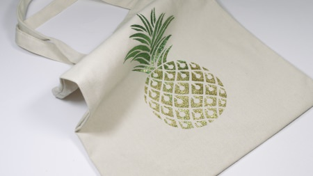 Izink Diamond Tote Bag Ananas