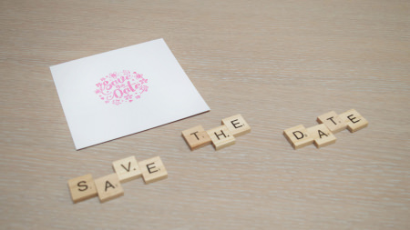 Tuto Relief Transparent Save the Date